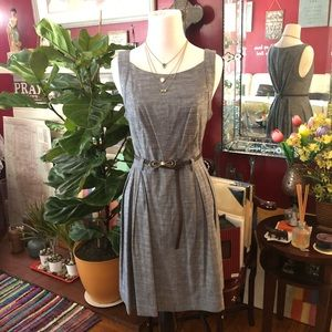 Structured Pleated Dress